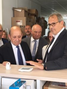 Smarthome France Honored With The Visit From Minister Jean